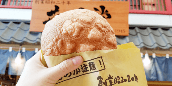 浅草花月堂本店メロンパン