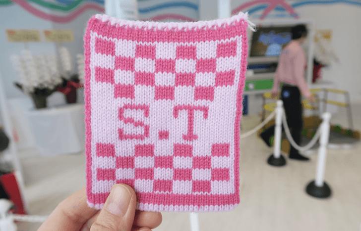 マイニットで実際に作った編み物