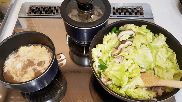 余りもの食材で作る回鍋肉
