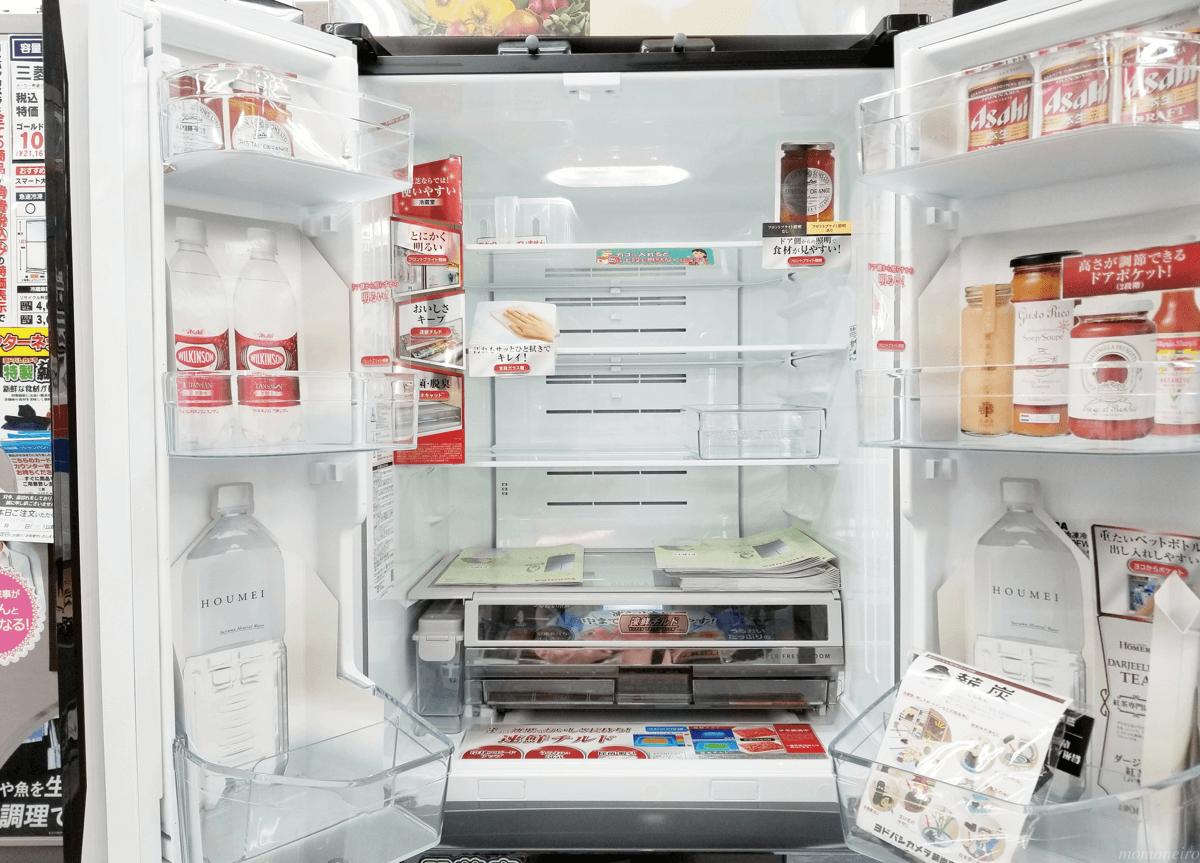 東芝VEGETA 冷蔵室庫内