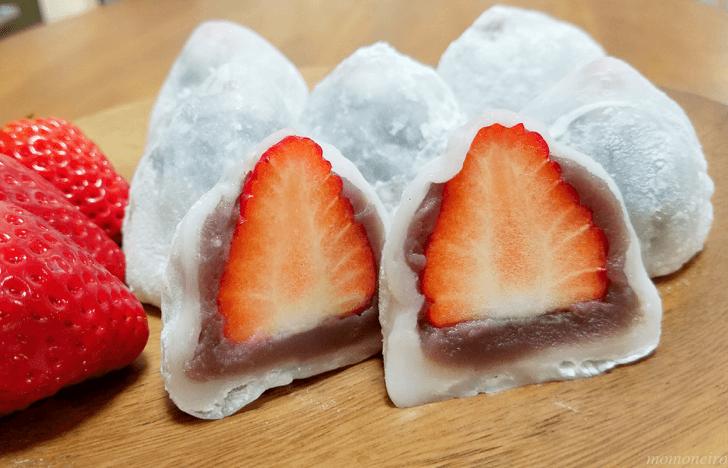 いちご 大福 白玉粉