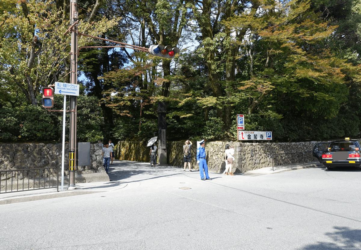 金閣寺 入口