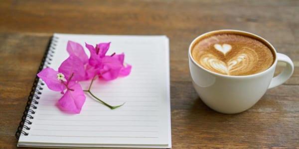 コーヒーとノート