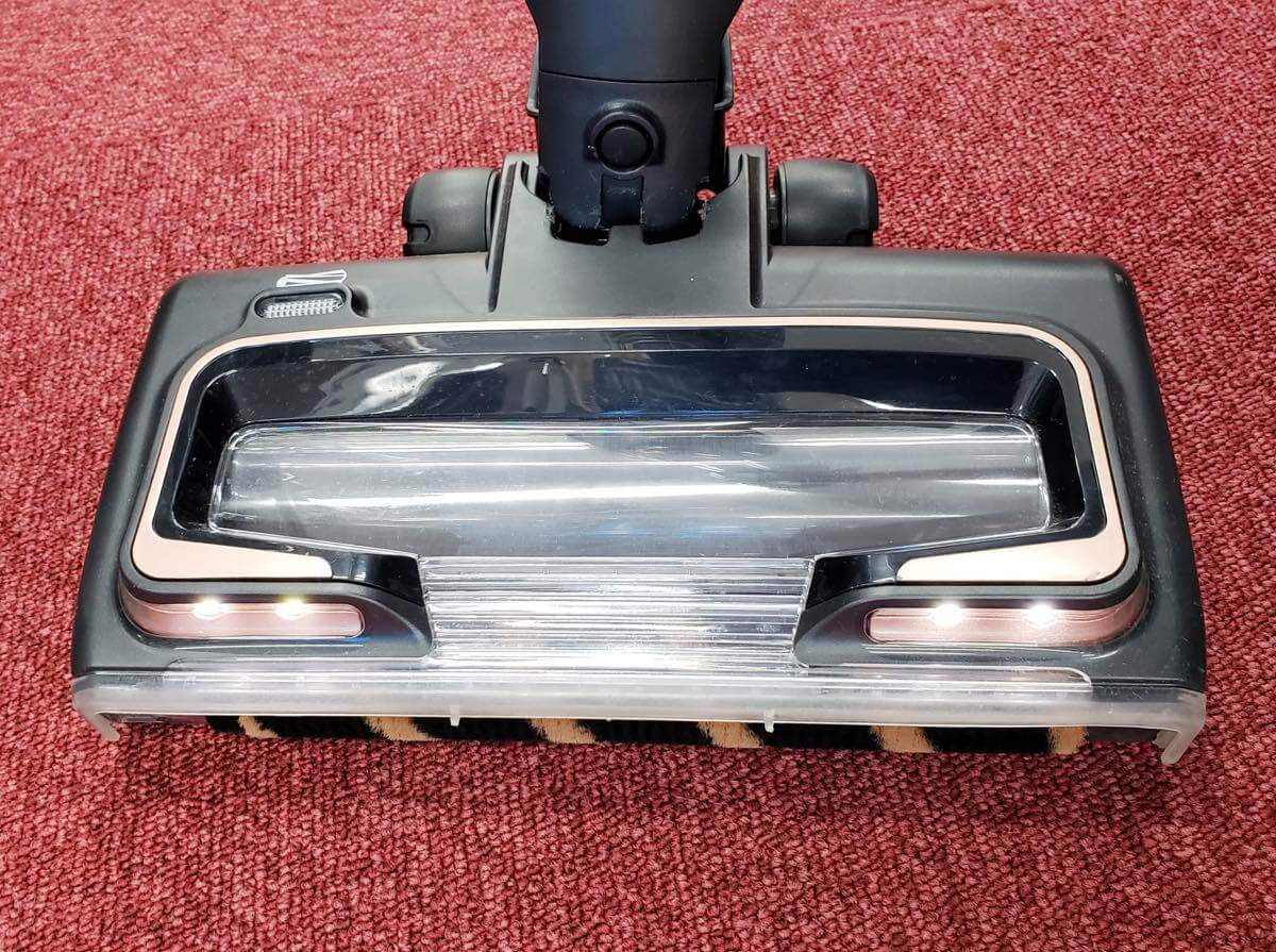シャーク コードレス掃除機のLEDライト