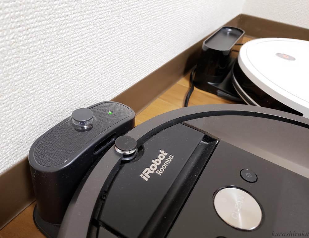 Ankerのロボット掃除機「Eufy RoboVac 11S」とルンバ980の充電台