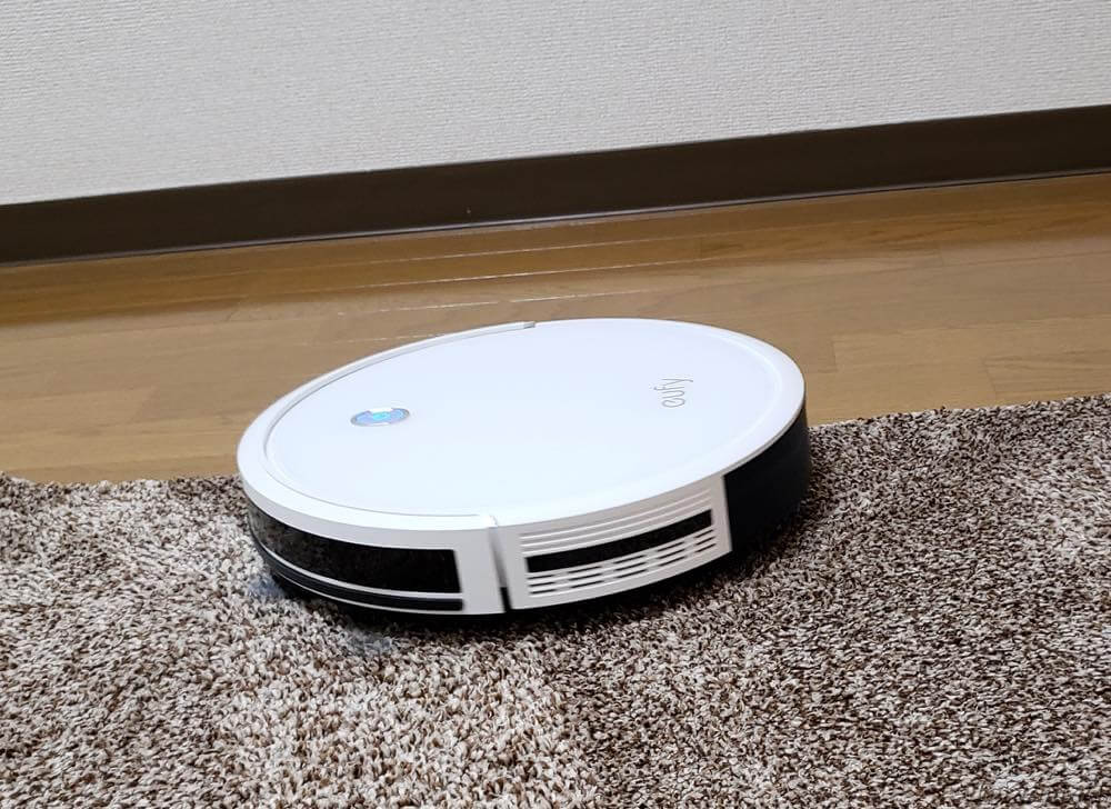 Ankerのロボット掃除機「Eufy RoboVac 11S」のマット実験