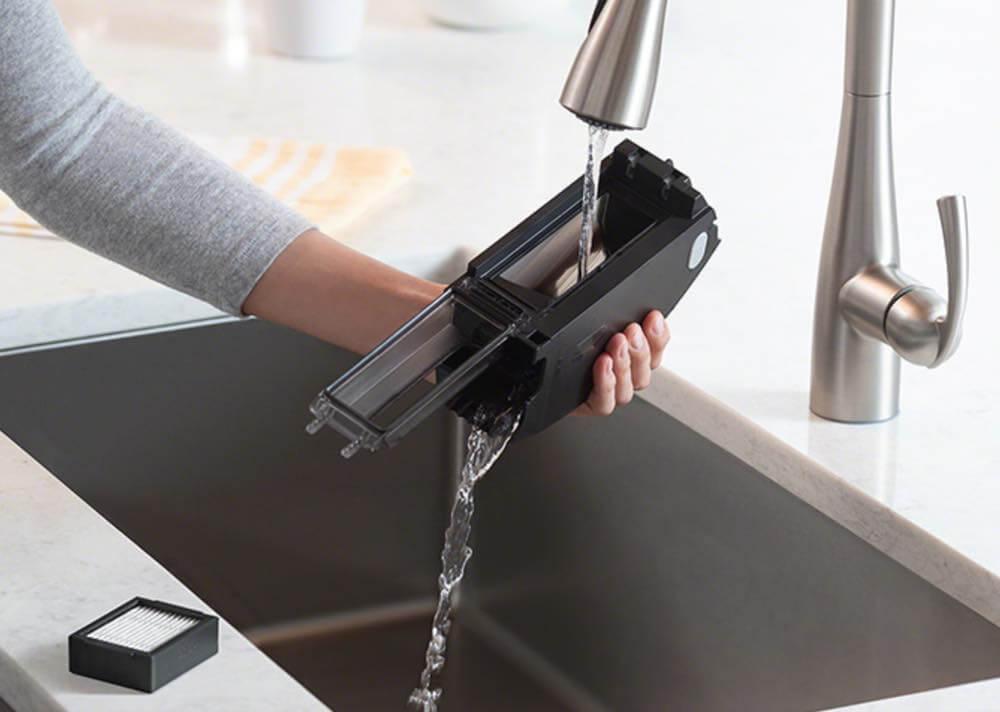 ルンバe5のダストボックス水洗い可能