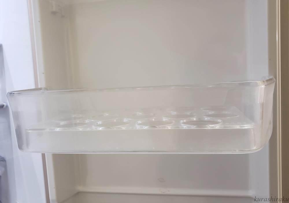 フレンチタイプの冷蔵庫の卵パック