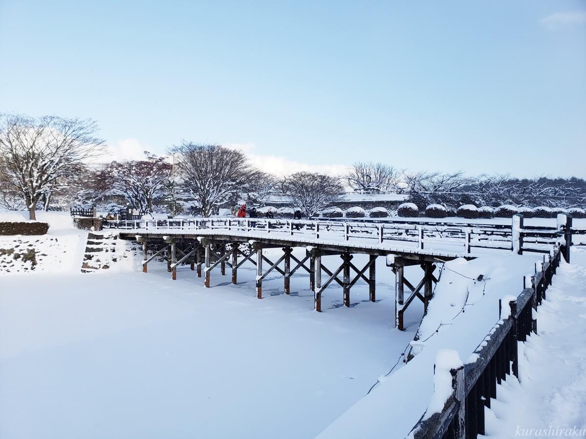 五稜郭の橋