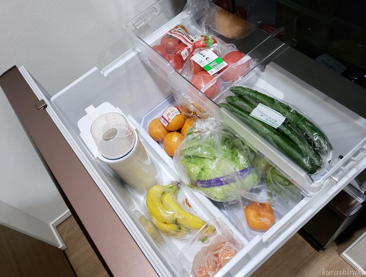 三菱の冷蔵庫