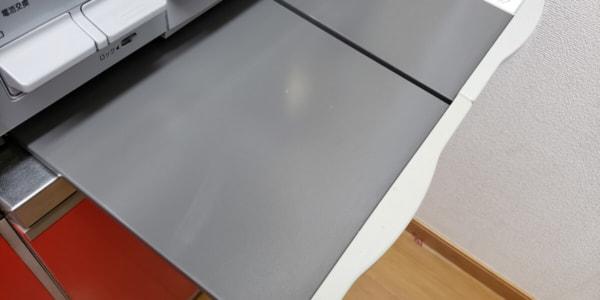 キッチンの作業テーブル