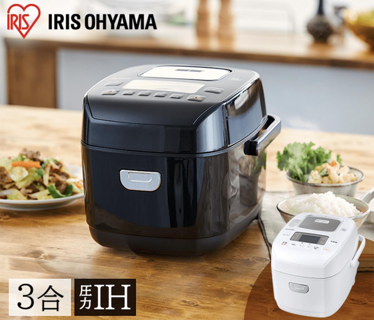 アイリスオーヤマ 圧力IHジャー炊飯器 RC-PD30(2020,12発売)