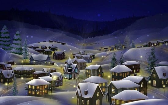 Houses-Covered-by-Snow-in-Christmas-600x375-min